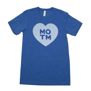 Middle of the Map Fest | Heart T-Shirt - Blue