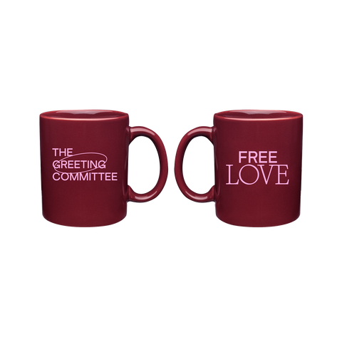 The Greeting Committee | Free Love Mug *PREORDER*