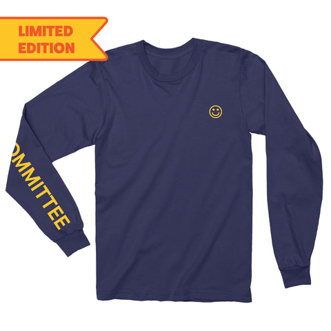 The Greeting Committee | Navy Long Sleeve T-Shirt *Preorder*