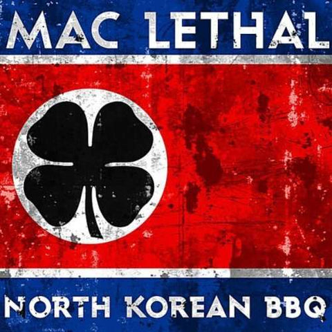 Korean BBQ Mac Lethal CD Cover