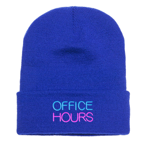 Office Hours | Neon Sign Beanie