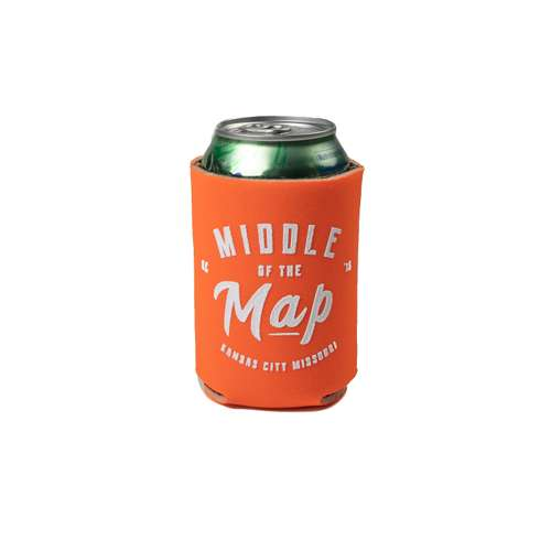 Middle of the Map Fest | Orange Koozie