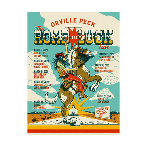 Luck Reunion | Orville Peck X Luck Reunion Poster