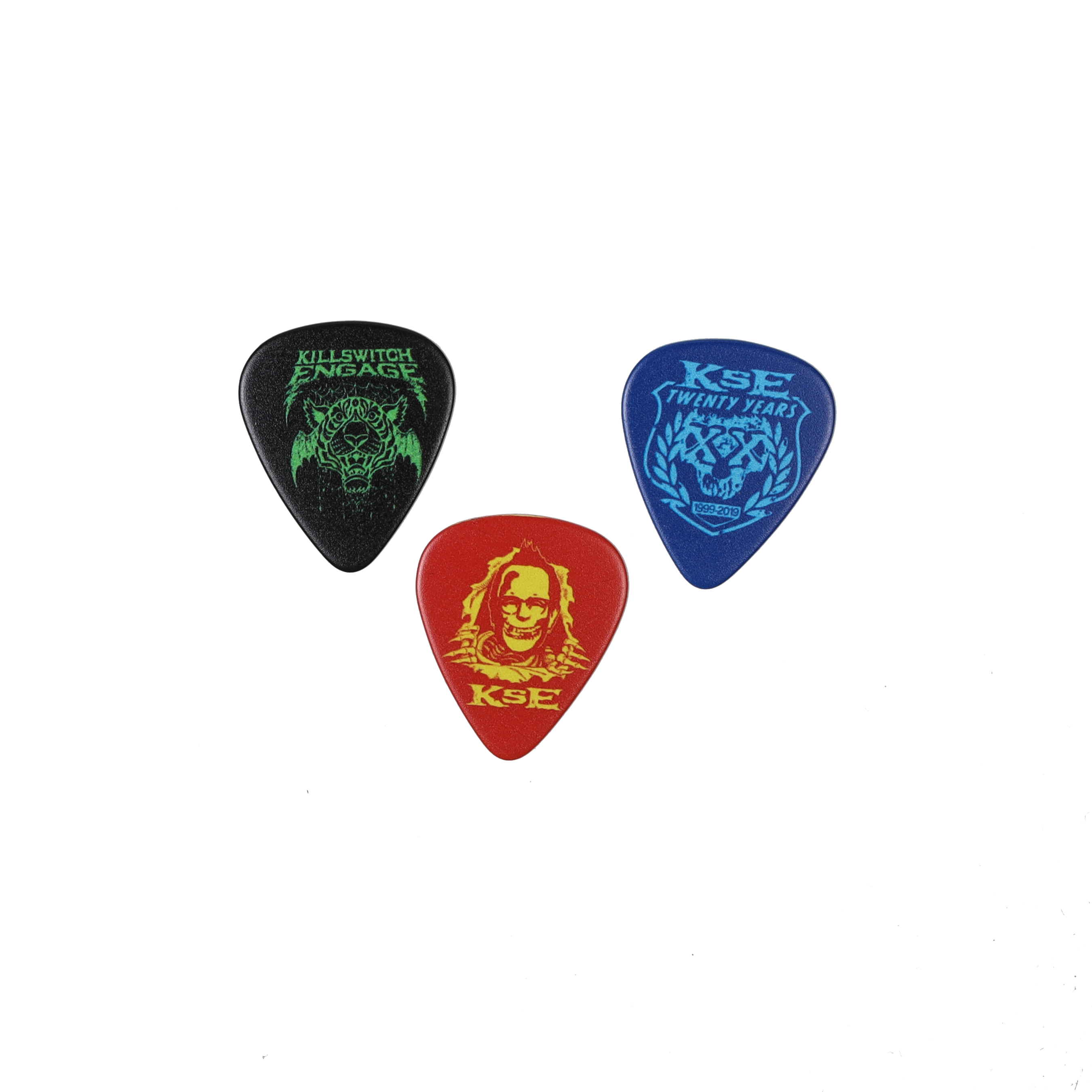 Killswitch Engage Vault | Branded 3 Pick Pack