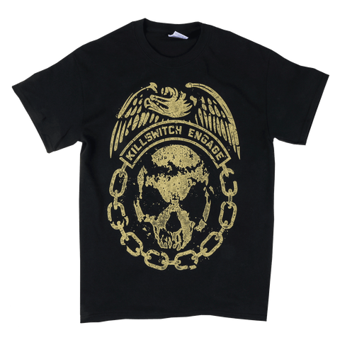 Killswitch Engage Vault | Skull Disarm the Descent World Tour T-Shirt