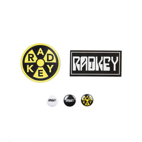 Radkey Button and Sticker pack