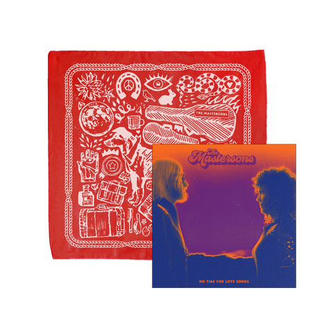 The Mastersons | No Time For Love Songs | Music + Bandana Bundle