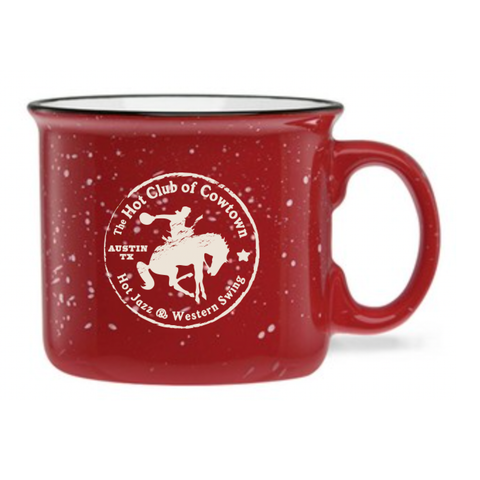 Hot Club Of Cowtown | Horse Logo Mug - Red *PREORDER*