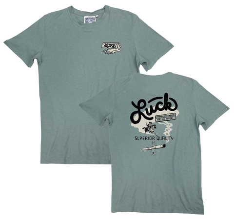 Luck Reunion | Rolling Papers Hemp T-Shirt -PREORDER-