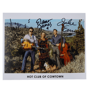 Hot Club of Cowtown | Signed Photo