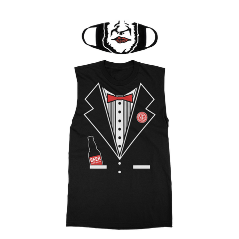 Killswitch Engage | Adam D Halloween Tux Sleeveless Shirt + Mask Bundle *PREORDER*