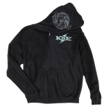 Killswitch Engage Vault | Snake Zip Hoodie - Black