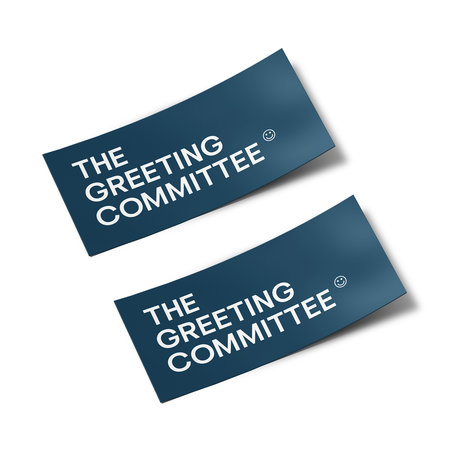The Greeting Committee | Logo Sticker Pair