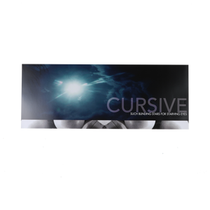 15P | Cursive - Such Blinding Stars For Starving Eyes Poster