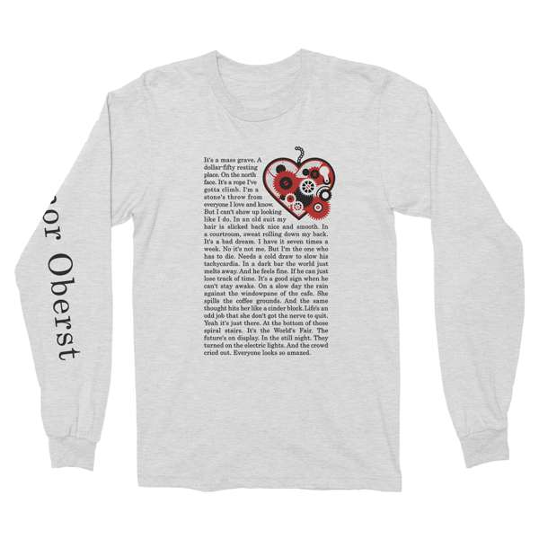 Conor Oberst | Tachycardia Long Sleeve T-Shirt