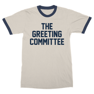 The Greeting Committee |  Natural Ringer T-Shirt *Preorder*