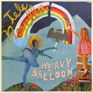 "Yellow Year Record Tele Novella ""Heavy Balloon"" Album Art"