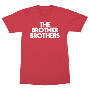 The Brother Brothers | Logo T-Shirt - Red