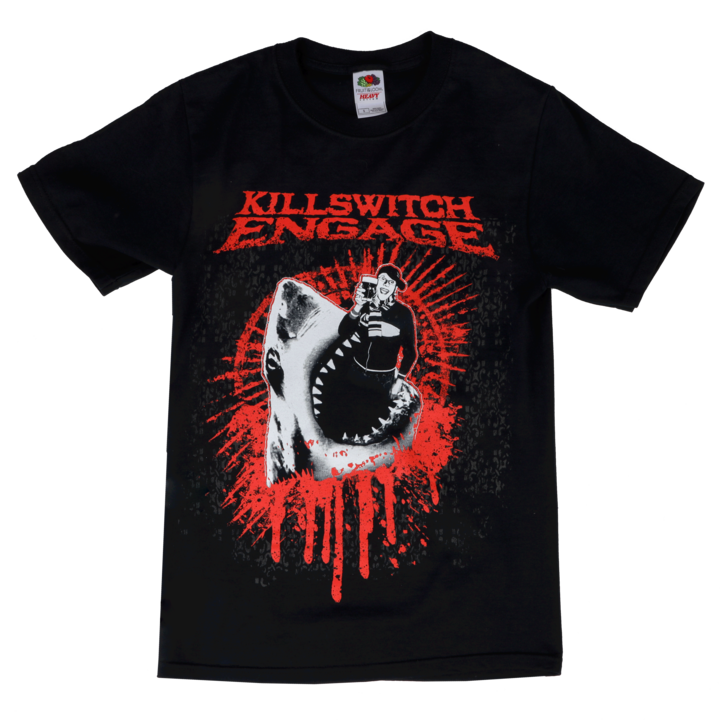 Killswitch Engage Vault | Thank God I'm Drunk T-Shirt - Black/Red