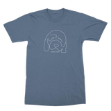 Hannah Gadsby Douglas the Dog T-Shirt in Blue