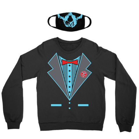 Killswitch Engage | Halloween Tux Crewneck + Mask Bundle *PREORDER*