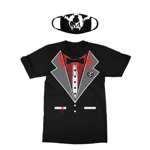 Killswitch Engage | Vamp-Switch Halloween Tux T-Shirt + Mask Bundle *PREORDER*