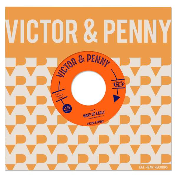 "victor and penny 7"" record"