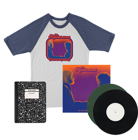 The Mastersons | No Time For Love Songs | Deluxe Vinyl Lover + Raglan Bundle