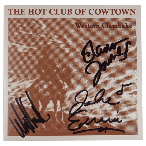 Hot Club of Cowtown | Western Clambake CD (1997) *Autographed*