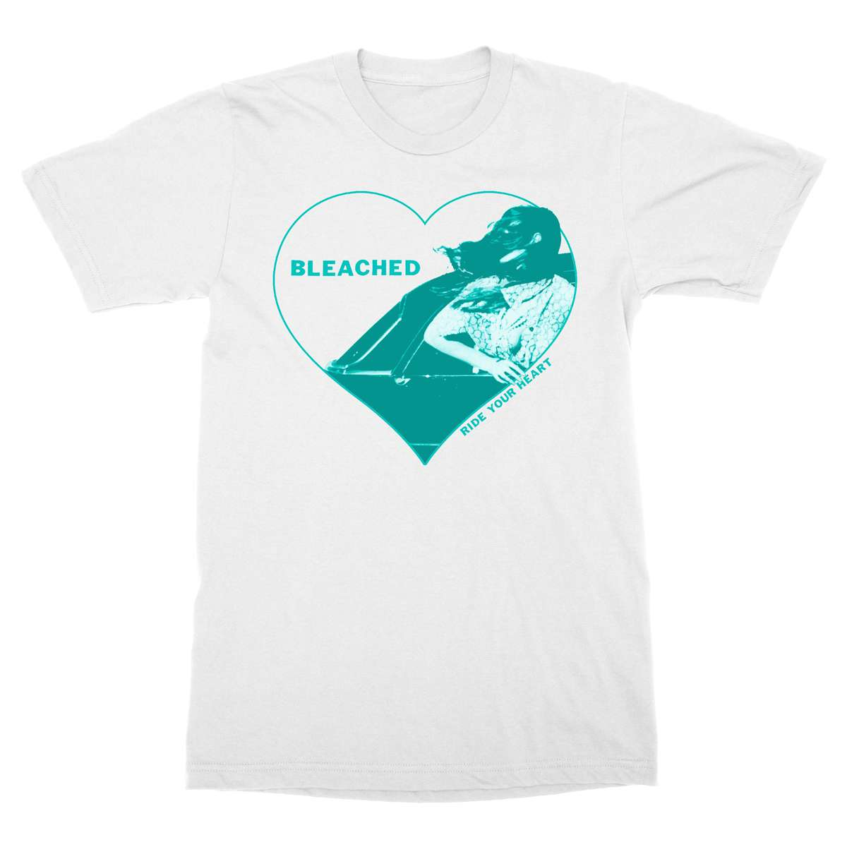 "Bleached ""White Heart"" T-shirt"