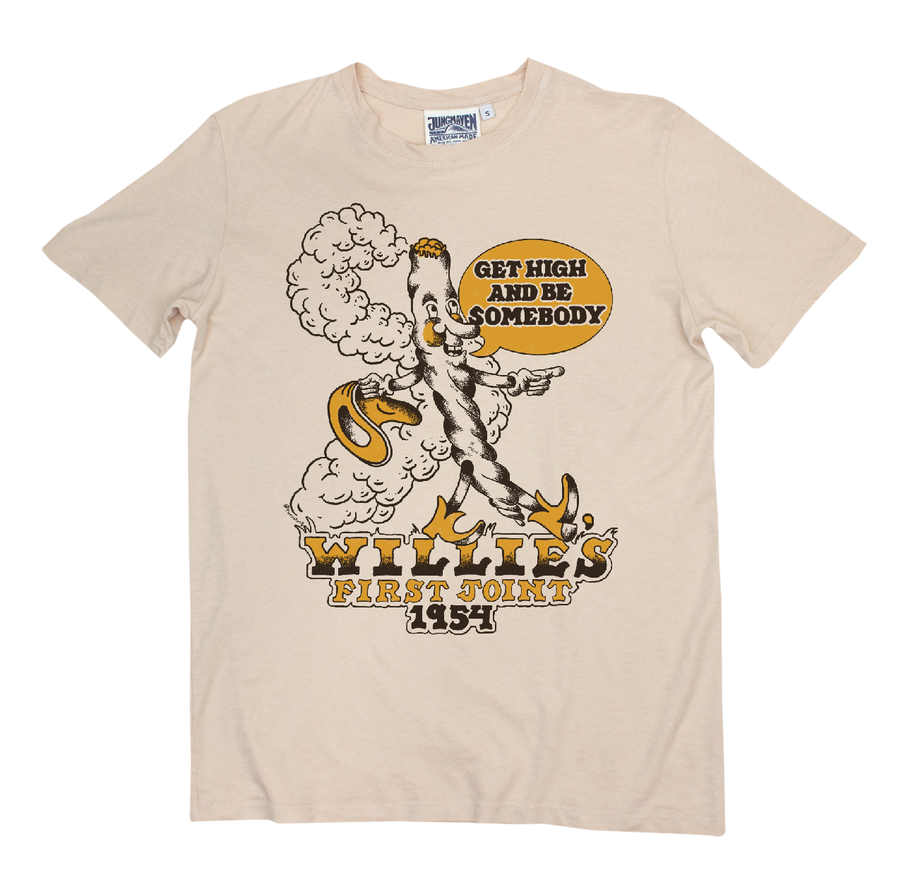 Luck Reunion | Willie's First Joint Hemp T-Shirt -PREORDER-