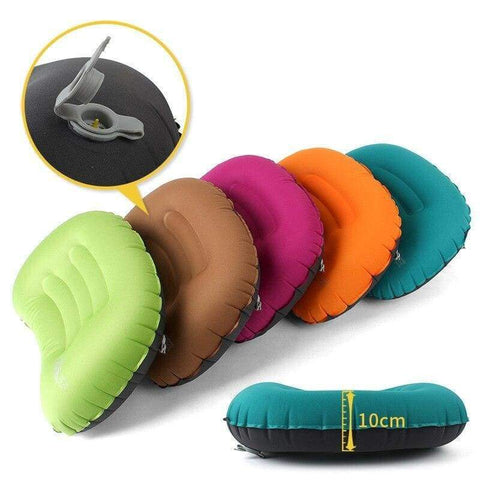 Coussin gonflable oreiller portable camping - Jesurvis