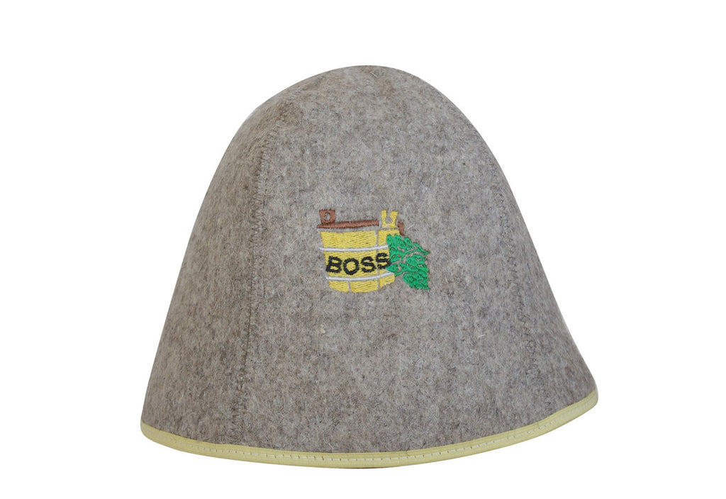Sauna Hat - Boss (Dark)
