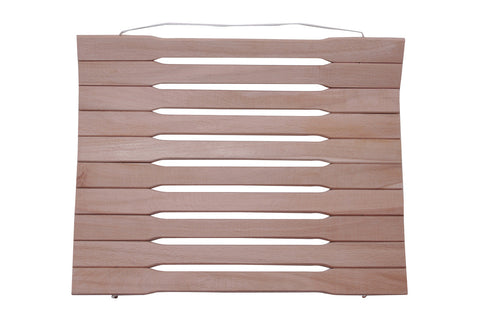 Wooden Foldable Seat for Sauna