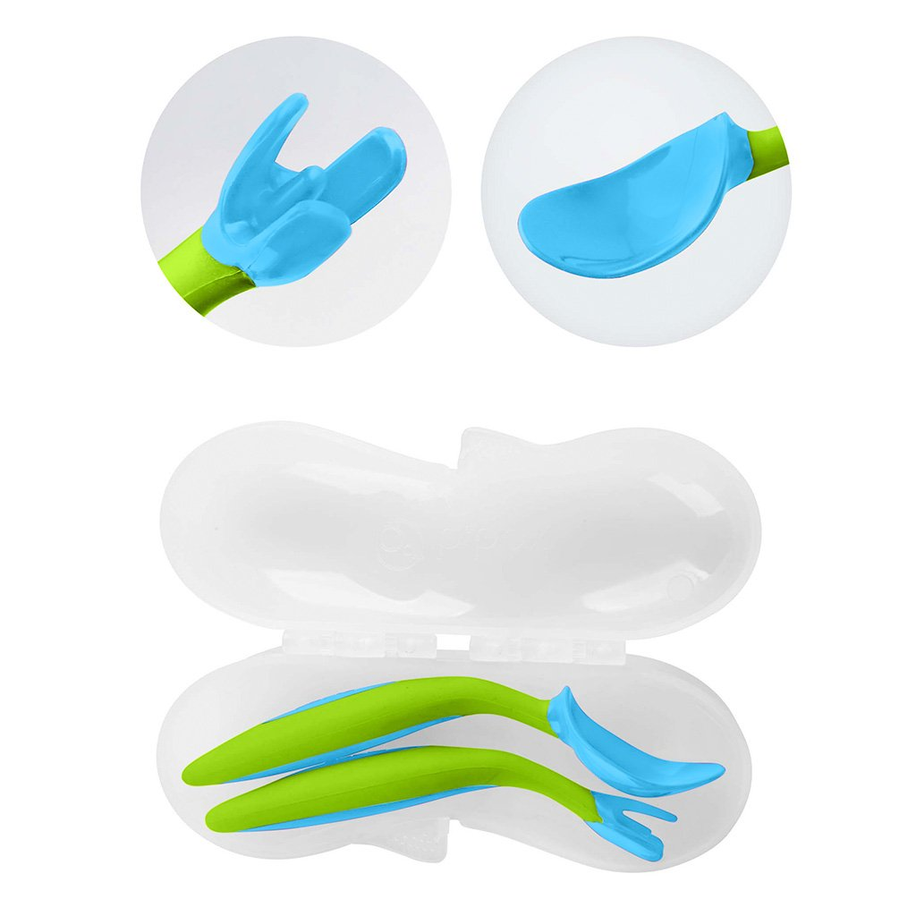 *b.box* Toddler cutlery set カトラリーセット - ocean breeze - b.box Japan