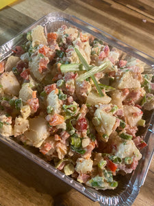 Family potato salad to feed 10