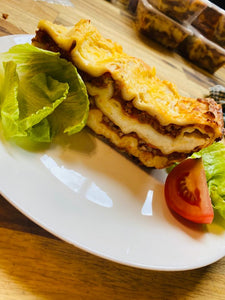 Beef Lasagna With OR Without Salad