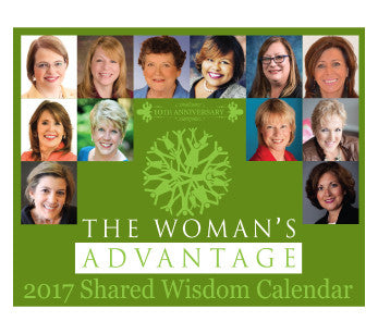 The Woman's Advantage® Shared Wisdom Calendar
