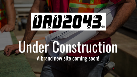 DAD2043 logo. Under Construction. A brand new site is coming soon!
