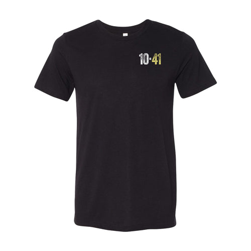 10-41 Left Chest Logo T-shirt - Black Triblend