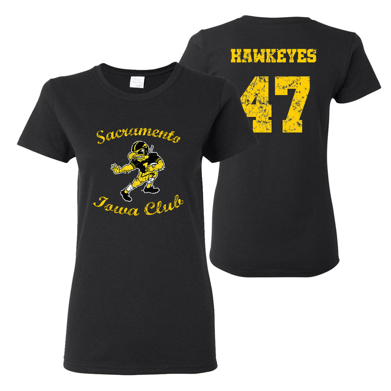 Sacramento Iowa Club Women's T-Shirt - Black
