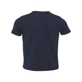 NYPD TRIATHLON TEAM SWIM BIKE RUN CUFF TODDLER TEE - NAVY