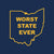 Worst State Ever OH Infant - Navy