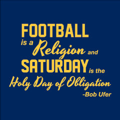 Football Religion - Navy
