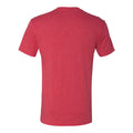 Coval Dog Logo Triblend Tee - Vintage Red