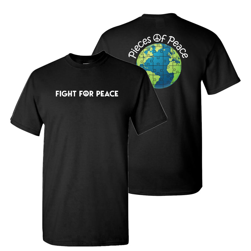 Fight For Peace Unisex T-shirt - Black