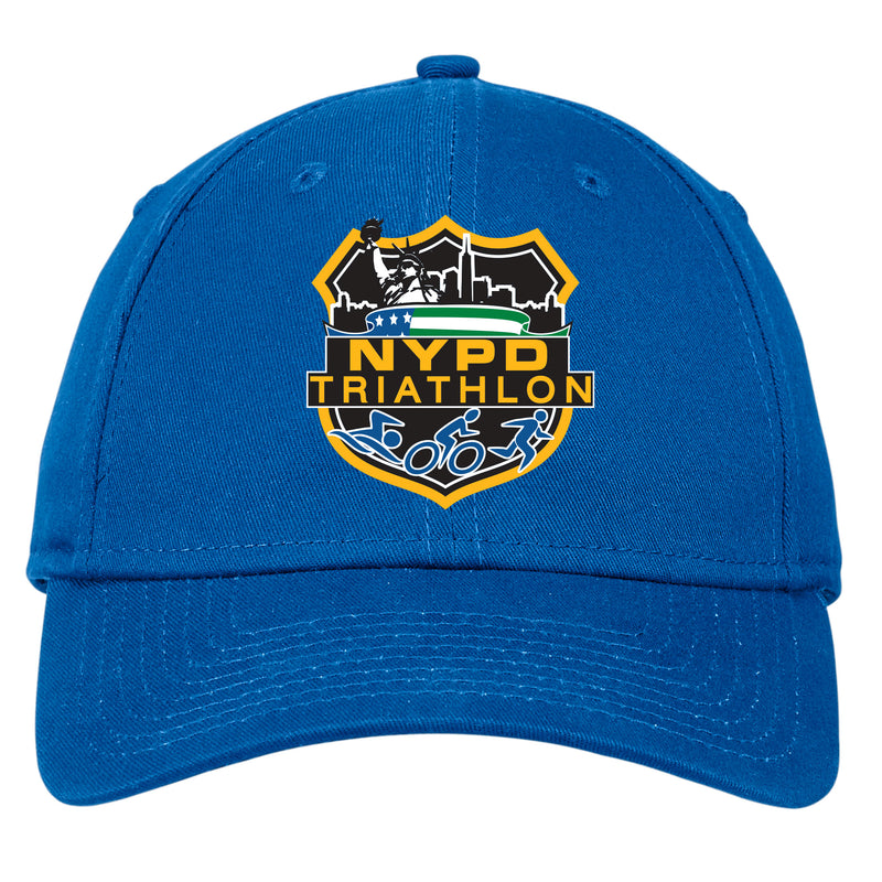 NYPD Triathlon Full Color Logo Structured Hat - Royal