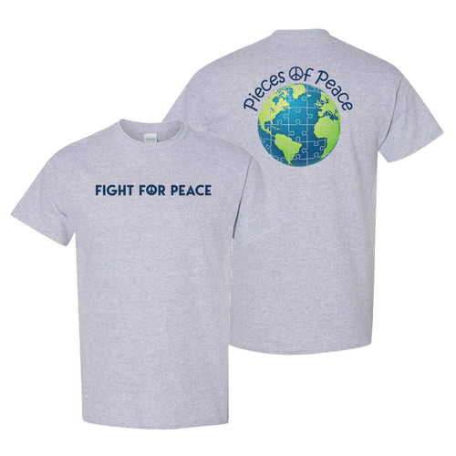 Fight For Peace Unisex T-shirt - Graphite Heather