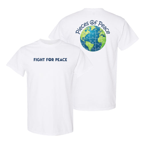 Fight For Peace Unisex T-shirt - White