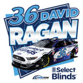 36 David Ragan Unisex T-Shirt - White